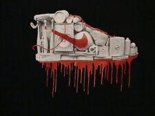 Nike Footwear Apparel Speaker Ball Bat Artwork Black T Shirt Xl