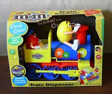 M&M's Train Candy Dispenser New
