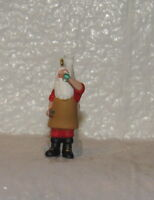 Hallmark Keepsake Ornament Miniature Ice Cold Coca-Cola 1997 Santa Claus
