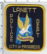Lanett Police (Alabama) Shoulder Patch