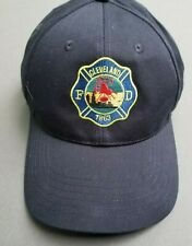 🔥 Cleveland Fire Department Baseball Hat Cap Rescue