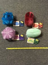 Giant Microbes Plush Collection Of 4