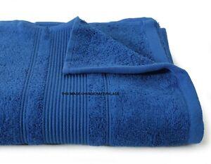 Doux Solide Plage Serviette Coton Piscine Luxe Grand Drap de Bain Rapide Sec Spa