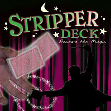 Magic Stripper Deck - Poker Size - Magic Tricks - New