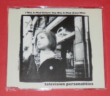 Television Personalities - I was a mod before you was a mod -- Maxi-CD / Indie