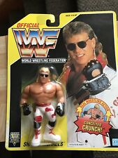 NIP WWF WWE Hasbro MOC Shawn Michaels Series 7 Yellow Card 1993 Action Figure