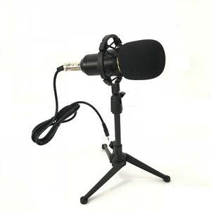 BM800 Condenser Microphone Kit Studio Tripod Stand Sound Card Mic Shock Mount AA