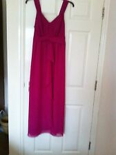 FREE POSTAGE New Savoir Long Fully Lined Evening Dress Size 14