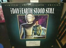The Day the Earth Stood Still LASERDISC SIGNED Robert Wise #429/2500 NEW SEALED