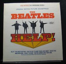 The Beatles - Help! Soundtrack LP VG+ SMAS-2386 Stereo 1965 USA Capitol Record