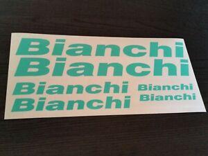 +++ BIANCHI Aufkleber 6 teiliges Sticker Set +++