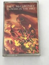 PAUL McARTNEY - FLOWERS IN THE DIRT . CASSETTE