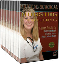Medical Surgical Nursing DVDs and Video Full Package