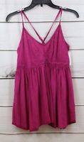 Melrose and Market Embroidered Knit Cami Tank Top Pink