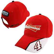 Kevin Harvick 2015 Chase Authentics #4 Budweiser Pit Hat FREE SHIP!