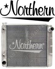 "Northern 209616 Race Aluminum Radiator Ford Mopar 22"" X 19"" W/ Trans Oil Cooler"