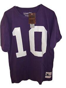 Mitchell & Ness Fran Tarenkenton Name & Number T-Shirt-Defect