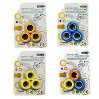 Magnetic Bracelet Ring Decompression Toy Ring Finger Game C2N7