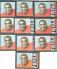 10 Irving Fryar 1985 Topps Rookie cards New England Patriots BV $55 LOT 376