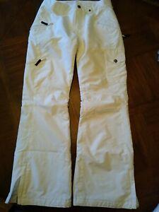 B360 Womens White Ski Snowboard Pants Size XS