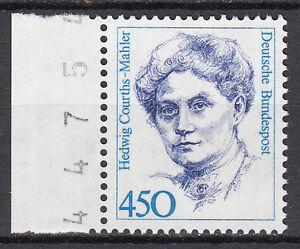 BRD 92 Mi. Nr. 1614 Bogenzähler Postfrisch (3888)