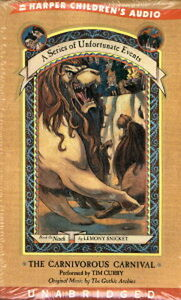 Audio book - The Carnivorous Carnival by Lemony Snicket    -    Cass