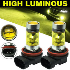 2X H11/H8 LED Lampen Nebelscheinwerfer Scheinwerfer Tagfahrlicht Fog Light 100W