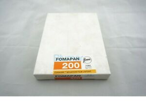 Foma Fomapan 200 4x5 inch large format ISO 200 B&W FILM 50 sheets 9-2021!