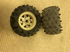 Vintage Buggy  tires, rims  Off-road #76 Tamiya