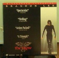 laserdisc LD   THE CROW  widescreen  thx   laserdisc LD