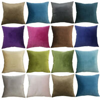 Velvet Soft Decorative Square Pillow Covers Cushion Case for Sofa Bedroom60x60cm