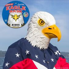 Bald Eagle Head Mask & Talons Gloves Claws Costume Party Bird Accoutrements