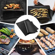 3 Stück Teflon Dauer-BBQ-Grillmatte Antihaft Bratfolie Grillfolie Backmatten DE