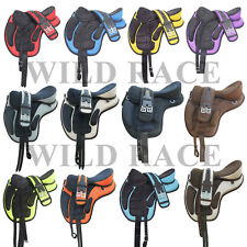 treeless saddle synthetic freemax saddle 13 colors 7 sizes