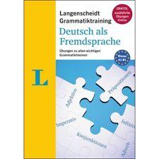 Deutsche Grammatik lernen mit Übungen zu allen wichtigen Themen