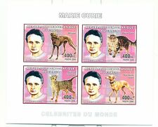 CHIENS & CHATS - DOGS & CATS CONGO 2006 M. Curie set imperforated
