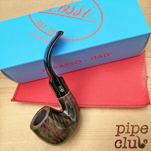 Rossi Notte 8614 Full Bent Oom Paul Pipe by Savinelli  - NEW