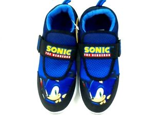 BOYS KIDS SONIC THE HEDGEHOG TRAINERS TOUCH FASTENING GAMING PUMPS SIZE 8 - 2
