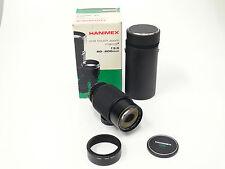 Hanimex para Minolta MD Sony 3,5/80-200 mm camera cámara objetivamente OVP 1365