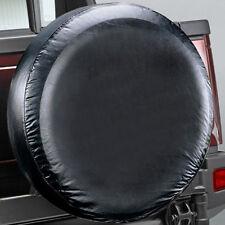 NUOVA morbida NERO COPERTURA RUOTA POSTERIORE pneumatico di ricambio wheelcover TATA WRANGLER MITSUBISHI