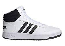 Scarpe uomo Adidas FY8617 sneakers alte sportive da ginnastica pelle bianche