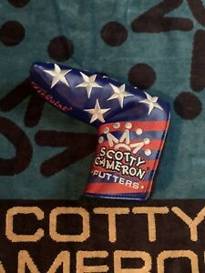Scotty Cameron Stars and Stripes Headcover Blade **NOOB**
