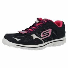 Skechers GOwalk 2 Lace Up Textile Trainers for Women