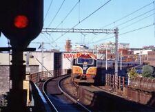 PHOTO  IRISH RAILWAY - CIE LOCO NO  6102 124 PEARSE 16.10.1993