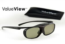 SONY-Compatible ValueView® 3D Glasses. Rechargeable. ONE PAIR