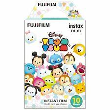 1 Pack 10 Photos Disney Tsum Tsum FujiFilm Fuji Instax Mini Film Polaroid SP-2