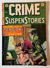 EC CRIME SUSPENSTORIES #14 orig Dec/Jan 1952/53 Haunt of Fear story 5.5 FN-