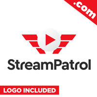 StreamPatrol.com - Cool domain for sale Godaddy PREMIUM TWO WORDS Streaming TECH