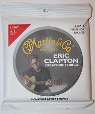 MARTIN & Co Jeu cordes Guitare Eric Clapton Phosphor Bronze MEC12 -  .012 - .054