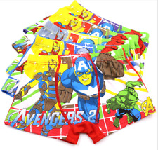 Toddler Children's Underwear Baby Boys Cartoon Cotton Pantie Shorts Kids Briefs